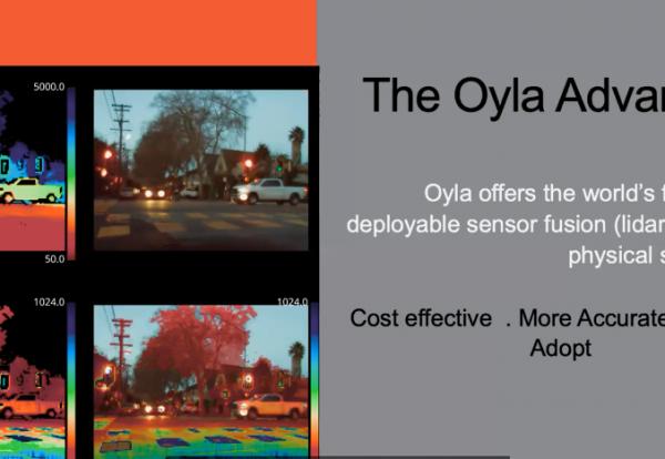Olya at IPVM New Product Showcase